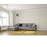 Sofa, Living room, Cctv