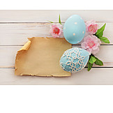 Copy Space, Easter, Easter Card