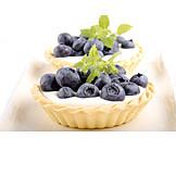Fruit tart, Tart, Blueberry tart
