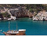 Bay, Adriatic sea, Vrbnik