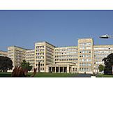 University, Goethe university, Poelzig building