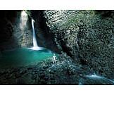 Waterfall, Alien, Hero, Phantom