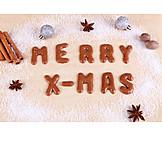 Christmas, Decoration, Russisch Brot