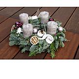 Christmas, Christmas Wreath, Advent Arrangement