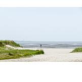 North sea, Sandy