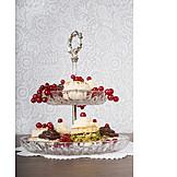Cake, Cakestand, Cupcakes