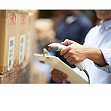 Logistics, Chest, Barcode scanner, Mail order company