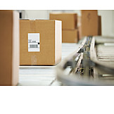 Package, Conveyor belt, Mail order company