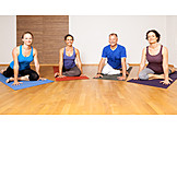 Active seniors, Vitality, Yoga