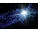 Light, Space, Galaxy, Light painting