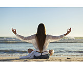 Woman, Relaxation, Yoga