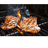 Broiling, Steak, Grilled meat