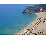 Beach, Tsambika, Tsambika beach
