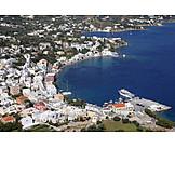 Greece, Coastal town, Leros