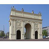 Potsdam, Brandenburg gate
