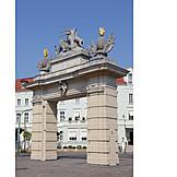 Potsdam, City gate, Tor hunter