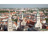 City view, Metropolis, Munich