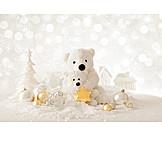 Christmas decoration, Polar bear