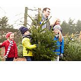 Christmas tree, Christmas shopping