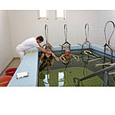 Cure, Therapy, Physiotherapist, Hydrotherapy