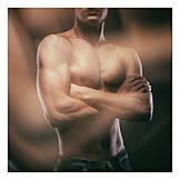 Man, Torso, Muscular build