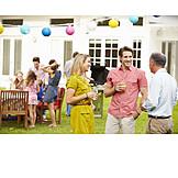 Celebration, Party, Family fest, Garden party
