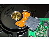 Hard drive, Disk