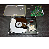Hard drive, Disk, Cutting