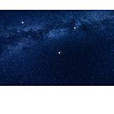 Stars, Stars sky, Milky way, Night sky
