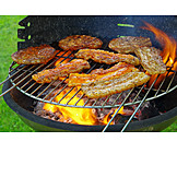 Broiling, Grilled meat