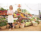 Market stall, Market woman, Vegetable market