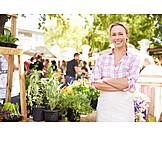 Market, Weekly market, Culinary herbs, Sales executive