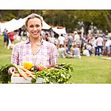 Delivering, Host, Greengrocer, Summer celebration