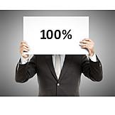 100, Successful, Professional, Percent, 100%
