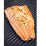 Grill, Salmon fillet