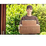 Package, Delivery, Messenger, Deliverer