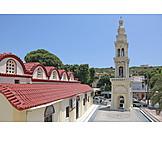 Village church, Rhodes, Afandou