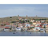 Harbor city, Chalki