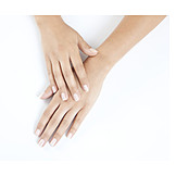 Beauty & cosmetics, Hand, Manicure