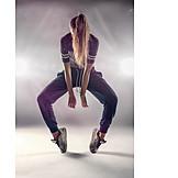 Jugendliche, Junge Frau, Hip Hop, Tanzen, Breakdance
