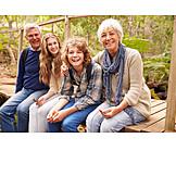 Grandson, Hiking, Grandparent, Walk