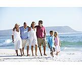 Family, Beach holiday, Family vacations