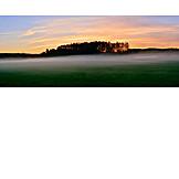 Fog, Morning mood