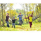 Cheerful, Children, Friends