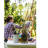 Easel, Painting supply, Artist