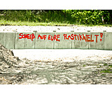 Plastic, Pollution, Criticism, Slogan