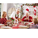 Christmas, Feast, Family meal