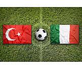 Soccer, Italy, Turkey