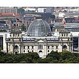 Berlin, The reichstag, Reichstag building