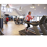 Gym, Fitness equipment, Workout